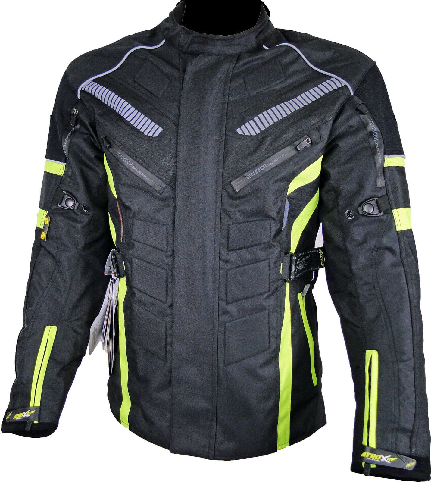 Chaqueta de moto, Cordura, Textil ropa Motocicleta ATROX nf2200 xl