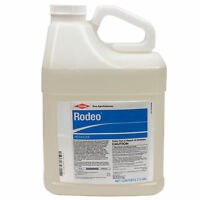 Rodeo Aquatic Herbicide 2.5 Gl Rodeo Herbicide Kills Pond Weeds Cattails Bulrush