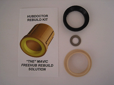 HUBDOCTOR SUPER BUSHING FOR MAVIC FREEHUBS .003 OVERSIZED NEW PRODUCT