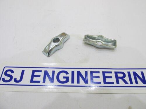 BSA Bantam d1 d3 Rear Chain Adjuster End plates Rigid Plunger 90-6084 New sj390