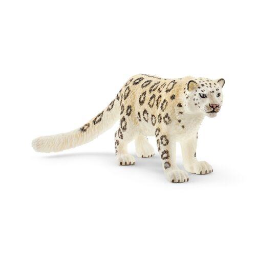 Schleich® Wild Life NEU mit Schleich®-Fahne 14838  Schneeleopard
