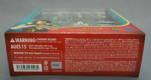 Mafex No.048 Wonder Woman (merveille Ver.) Medicom Toy Japon Nouveau ***