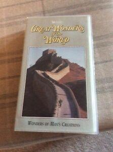 Great Wonders Of The World  Wonders Of Man039s Creations VHSSH 1995 - Edinburgh, Midlothian, United Kingdom - Great Wonders Of The World  Wonders Of Man039s Creations VHSSH 1995 - Edinburgh, Midlothian, United Kingdom
