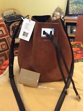 f5f53f3be77a7d item 3 NWT Michael Kors Collection Miranda Medium Bucket Suede, Luggage  ONLY ONE -NWT Michael Kors Collection Miranda Medium Bucket Suede, Luggage  ONLY ONE