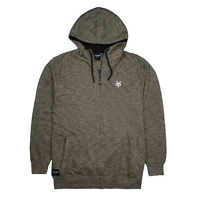 Mens Logo Black//Khaki Sizes S,M,L,XL,XXL Zoo York Hoodie Pullover