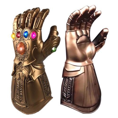 Thanos Gloves Avenge 3 4 Endgame Infinity War Gauntlet LED Cosplay Adult Kids BB