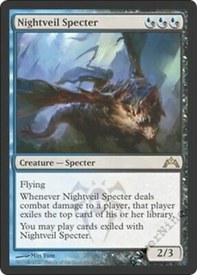 1 Nightveil Specter Gold Gatecrash Mtg Magic Rare 1x x1