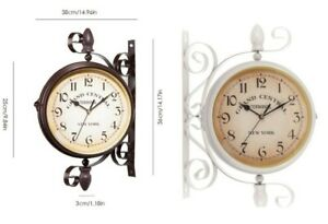 LARGE-OUTDOOR-GARDEN-WALL-CLOCK-CLASSIC-INDOOR-OUTDOOR-ROMAN-NUMERAL-SUNDIAL