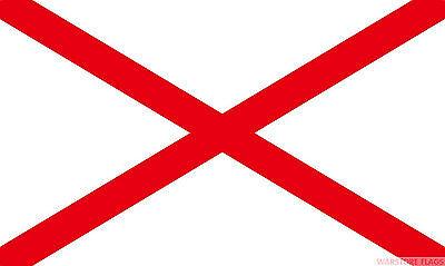 15 x 22cm 24 x St George Cross England Flag Waving Flags