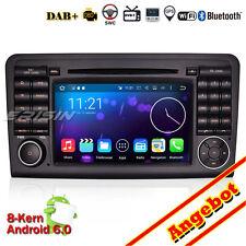 HD Android 6.0 DAB+Autoradio GPS WiFi Navi Mercedes ML/GL W164 X164 ML300 6511EU