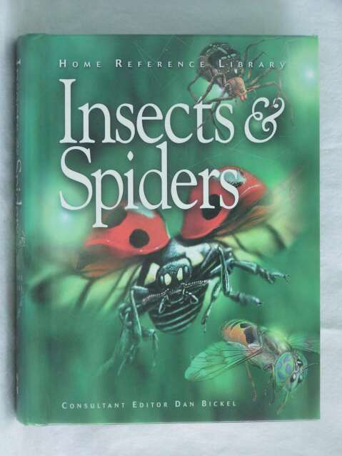 Insects & Spiders (Home Reference Library), , Excellent Book