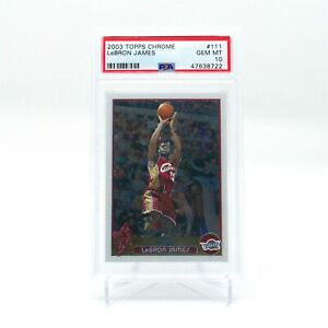 LEBRON-JAMES-2003-TOPPS-CHROME-111-PSA-10-GEM-MINT-CENTERED
