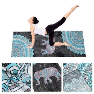 Non-Slip-Yoga-Mat-Towel-Fitness-Sports-Printed-Blanket-Carpet-72x25-039-039