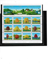 CANADA 1994 47c MAPLE TREES  BL/12 cat $12.00 #1524 a-l  see scan MNH LOT 304