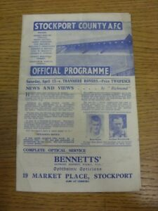 13-04-1946-Stockport-County-v-Tranmere-Rovers-Division-3-North-West-folded-s