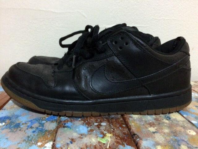 Nike SB Dunk Low Pro Ostrich Size 10 Black black for sale online  f5ad5d7f253a