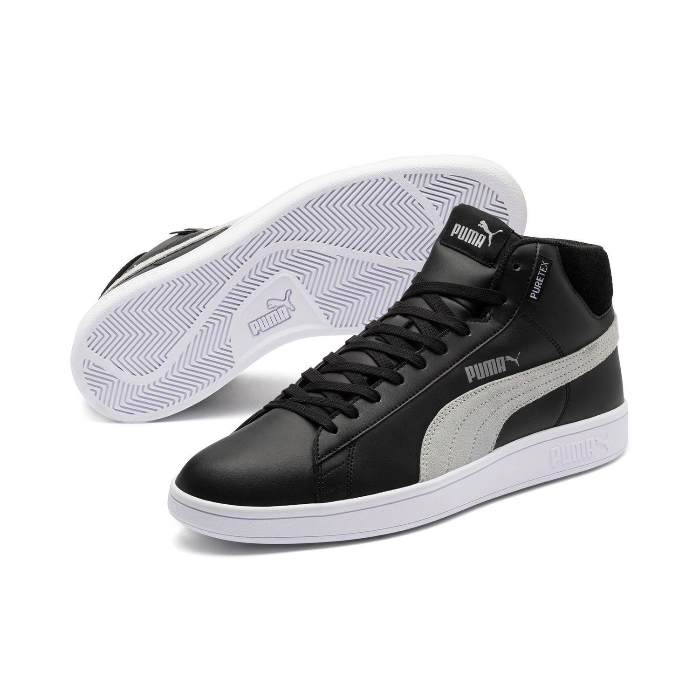 Puma Smash v2 mid puretex High-tops zapatos zapatillas 367853 puretex impermeable