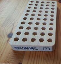 Stalwart Loading blocks, reloading trays ONE # 4 Block 357 magnum, 7.62x39 etc.