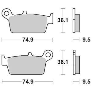 SUZUKI-RM-125-1996-2008-FREIN-ARRIERE-SBS-604-HF