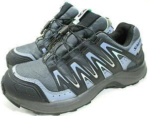 Details about SALOMON XA Comp 7 Clima Shield Waterproof Trail Running Shoes Sz 9 BlueGray