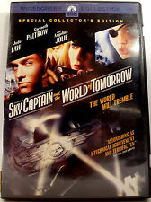 Sky Captain and the World of Tomorrow DVD Movie Jude Law Angelina Jolie Coll. Ed