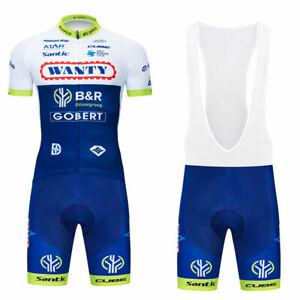 Mens Cycling Clothing Set Jersey Short Bib Shorts Set Summer Bike Outfits Set