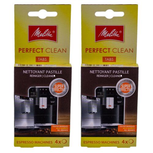62,15 EUR//100 g 8x Melitta PERFECT CLEAN TABS 6747183 für Kaffeevollautomaten