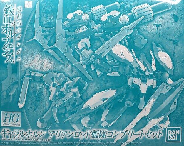 BANDAI HG 1 144 GJALLARHORN ARIANRHOD FLEET COMPLETE SET Model Kit IBO Gundam