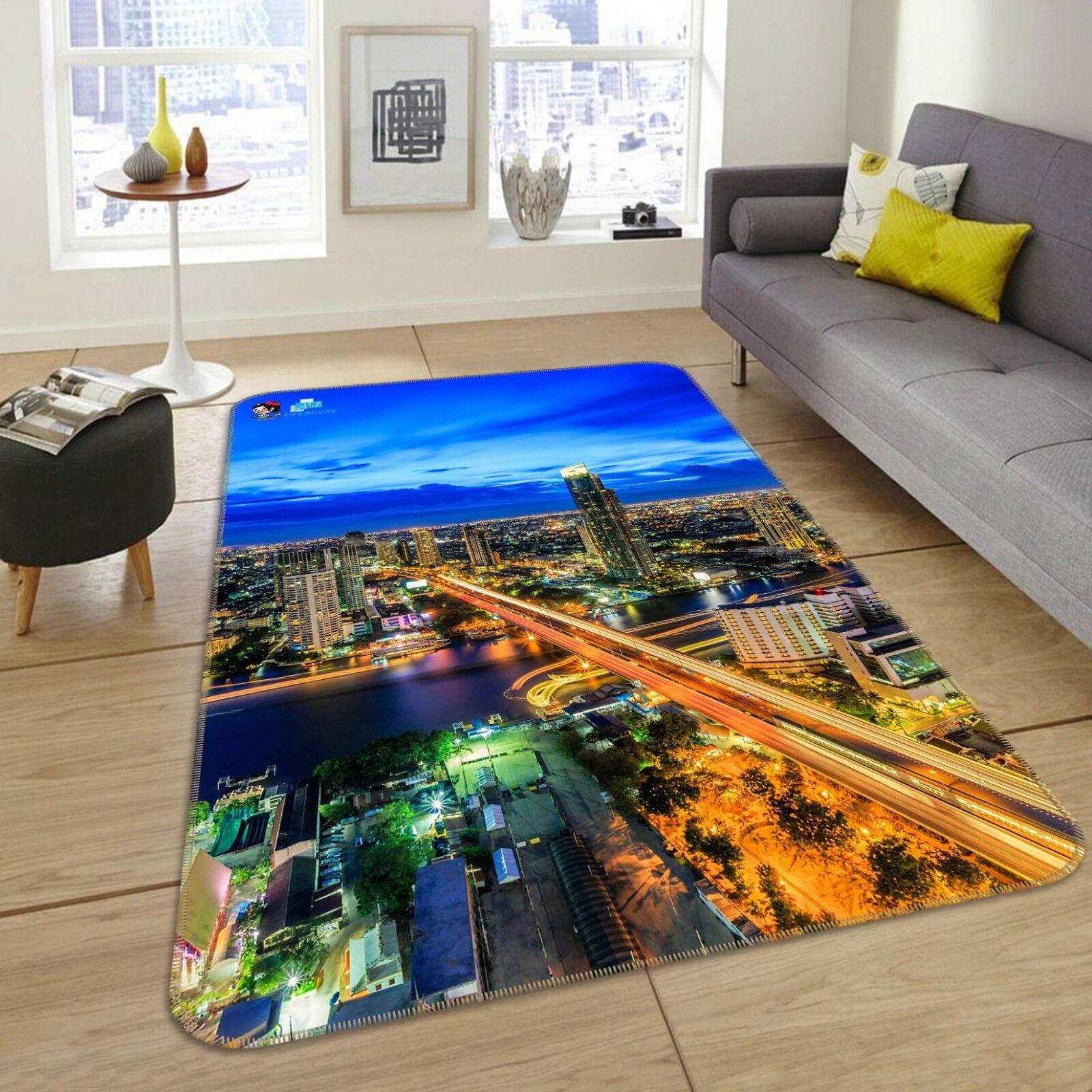 3D 3D 3D Himmelsstadt 677 Rutschfest Teppich Matte Raum Matte Elegant Teppich DE Carly 2fc512
