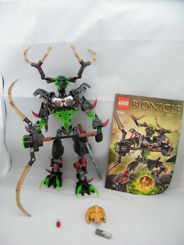 Lego Bionicle 71310 umarak LE CHASSEUR & Scorpion complet avec instructions RARE