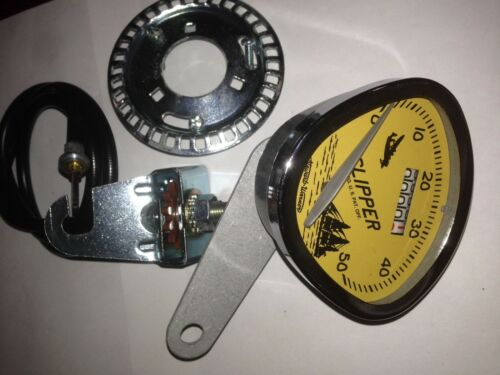 "STEWART WARNER Bicycle speedometer ALL METAL USA for 26/"" SCHWINN  COLUMBIA etc"