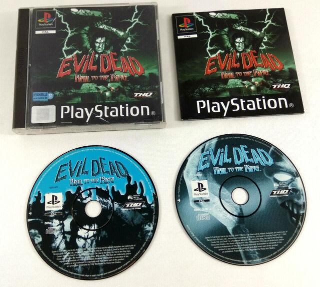 Jeu Playstation 1 PS1 VF  Evil Dead Hail to the King  avec notice  Envoi suivi