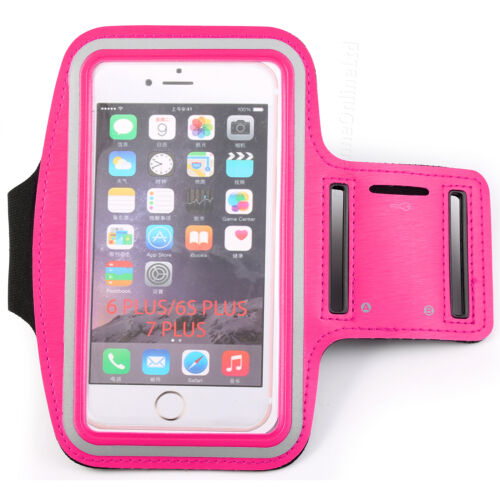 Details about  /Adjustable Strap Gym Workout Sports Running Cycle Pouch Case Cover Holder PINK