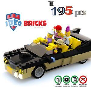 Details about LEGO car models moc lego car classic Cadillac VideoPDF  Instruction Manual XLF