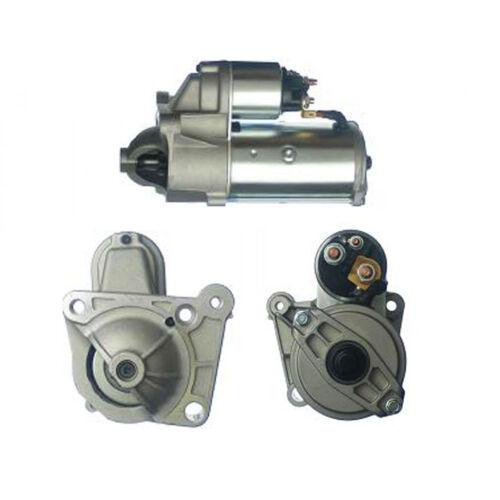 Fits OPEL Vivaro 1.9 DTI Starter Motor 2001-On 15498UK