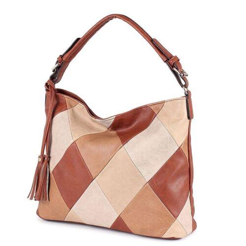 Women Luxury Shoulder Bag Leather Messenger Crossbody Bags Satchel Tote Handbag