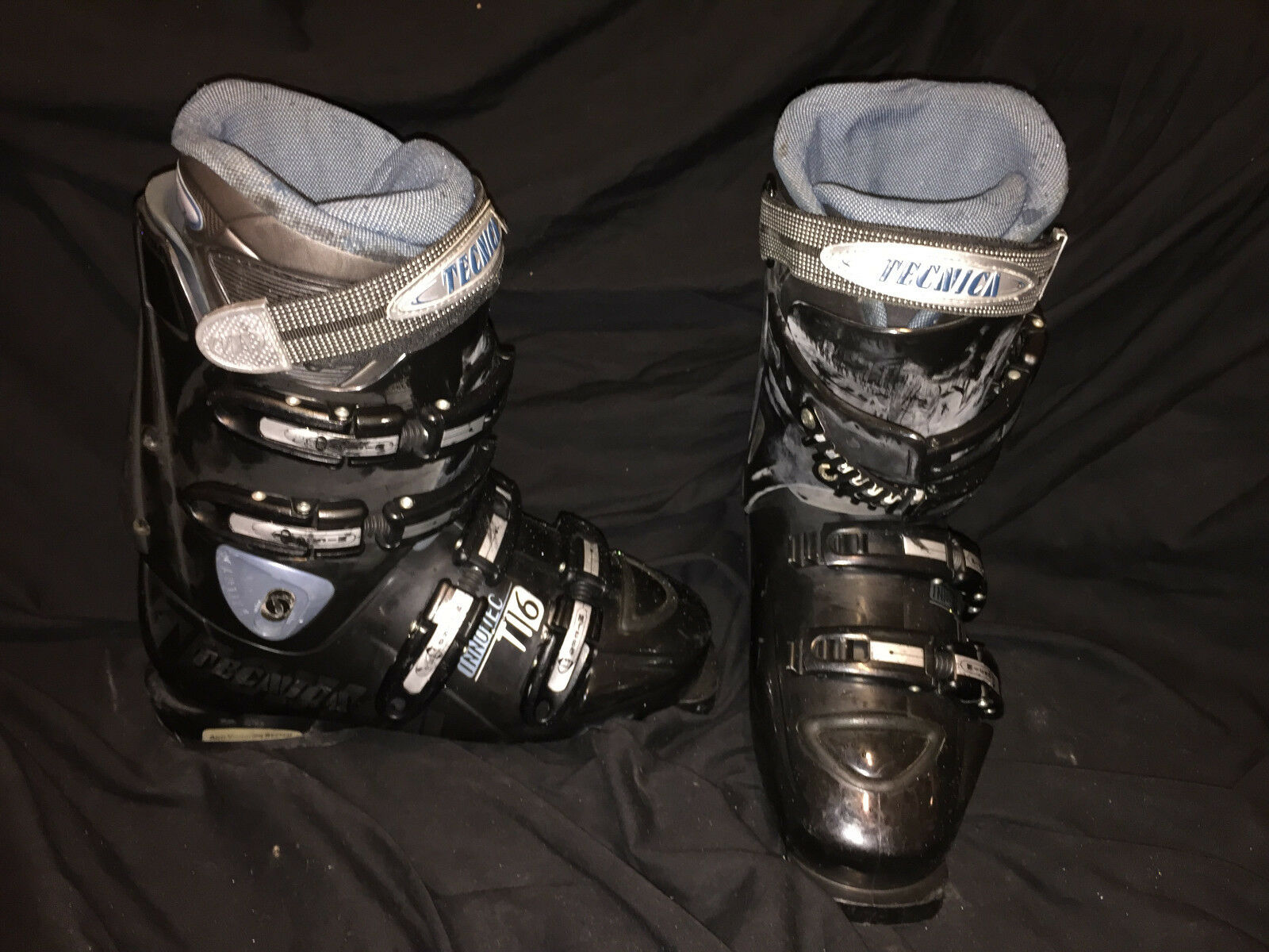Technica Diablo Flame Ski boots womens 6.5 snow downhill salomon