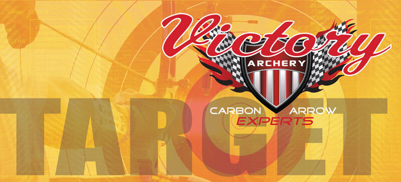 Victory VAP Target Tiro con Arco - (.166) ejes, Ultra Pequeño Diámetro  6pk