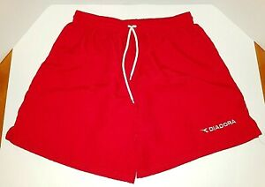 Vtg Nylon Checkered Satin Soccer Shorts Mens Xl Shiny Glanz 80s 90s