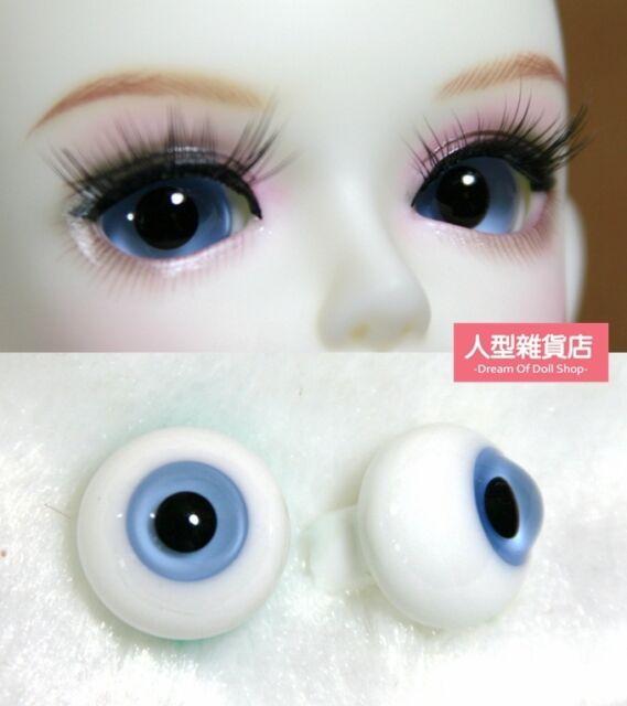 14mm  For BJD DOD AOD MK OK RD Doll Dollfie Glass Eyes Outfit  blue B