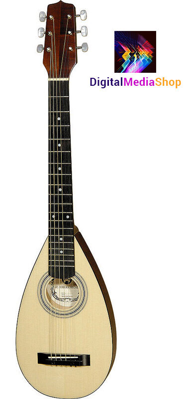 Travel Guitar Steel String Backpacker Acoustic Guitar with Gig Bag