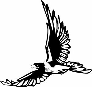 Flying Eagle Car Camper Bike Van Window Stickers Decals Ebay