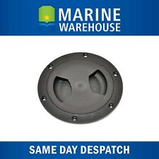 """NEW 6/"""" Inspection Port White with Clear Lid from Blue Bottle Marine"""