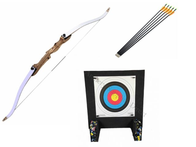 ASD Archery Leisure Bow Set Light Package with Arrows Target and Faces Kit