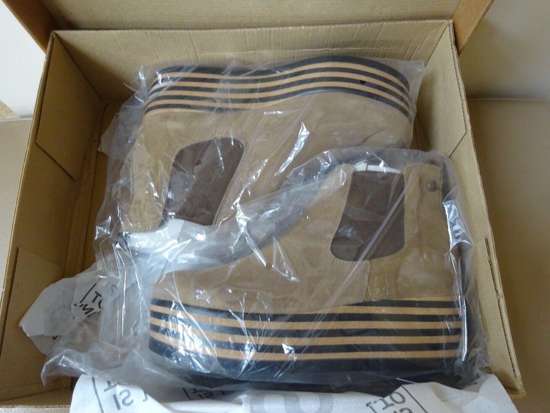 Is Suede To Me Uk5 38 Suede Is Leder Ankle Stiefel Platform Braun Tan Camel New 5d8038