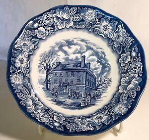 Staffordshire-Liberty-Blue-Round-Vegetable-Bowl