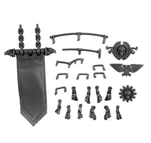 Imperial-Knight-weapon-Warhammer-parts-Bits-Pennant-Seals-Bars