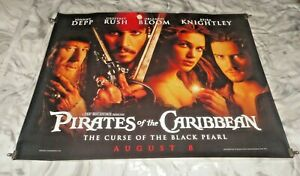 Pirates Of The Caribbean The Curse Of The Black Pearl Orig UK Quad Cinema Poster