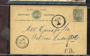 BRITISH-GUIANA-ALBERTON-ENGLAND-POSTAGE-DUE-MOV11