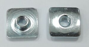 T Nut Square Flange Stainless Steel 8 32x0 157 Quot 25pcs